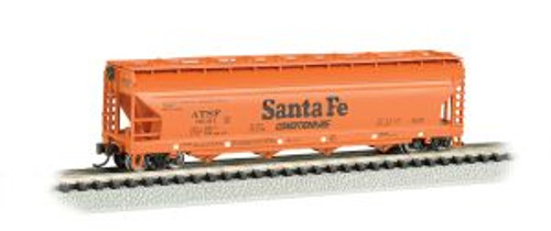 Bachmann Trains 17551 N Scale 56' 4-Bay Cvd.Hopper SF