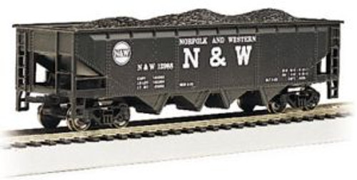 Bachmann Trains 17642 HO Scale 40' Quad Hopper N&W