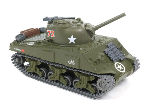 New Ray M4A3 Die-Cast Sherman Tank 1:32 Scale Military Vehicle SS-60105A