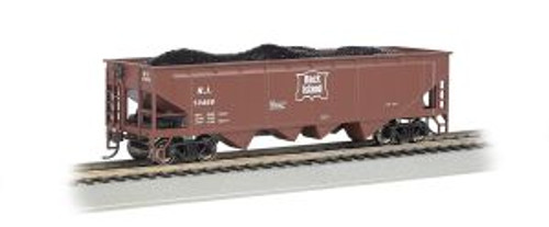 Bachmann Trains 17608 HO Scale 40' Quad Hopper RI