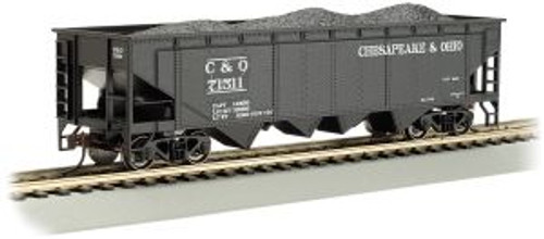 Bachmann Trains 17605 HO Trains 40' Quad Hopper C&O #71511