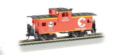 Bachmann Trains 17726 HO Scale 36' WV Caboose Chessie/org