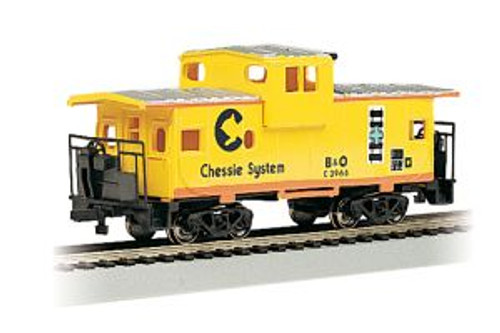 Bachmann Trains 17709 HO Scale 36' WV Caboose Chessie