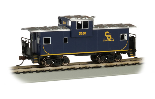 Bachmann Trains 17705 HO Scale 36' WV Caboose C&O #3260