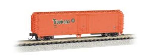 Bachmann Trains 17956 N Scale 50' Steel Reefer Tropicana/org