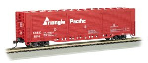 Bachmann Trains 18138 HO Scale All-Door Boxcar Triangle Pacific