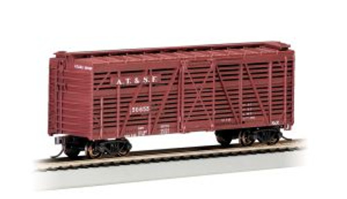 Bachmann Trains 18502 HO Scale 40' Stock Car SF