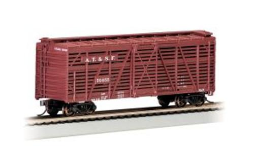 Bachmann Trains 18502 HO Scale 40' Stock Car SF