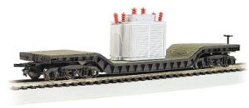 Bachmann Trains 18348 HO Scale 52' Dep.Ctr.Flatcar w/Transformer Load