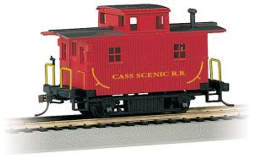 Bachmann Trains 18445 HO Scale Bobber Caboose Cass Scenic