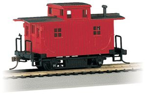 Bachmann Trains 18449 HO Scale Bobber Caboose Unlttrd/red