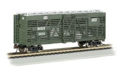 Bachmann Trains 18520 HO Scale 40' Stock Car NYC