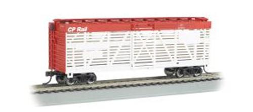 Bachmann Trains 18527 HO Scale 40' Stock Car CP Rail