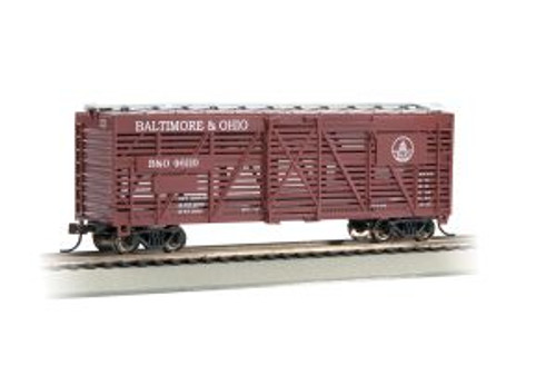 Bachmann Trains 18504 HO Scale 40' Stock Car B&O #46110