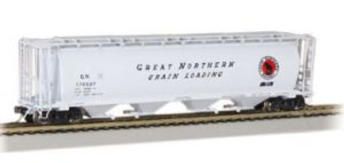 Bachmann Trains 19111 HO Scale 4-Bay Cyl.Hopper GN