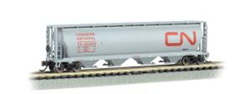 Bachmann Trains 19163 N Scale 4-Bay Cyl.Hopper CN