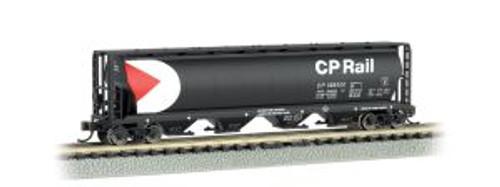 Bachmann Trains 19177 N Scale 4-Bay Cyl.Hopper CP Rail