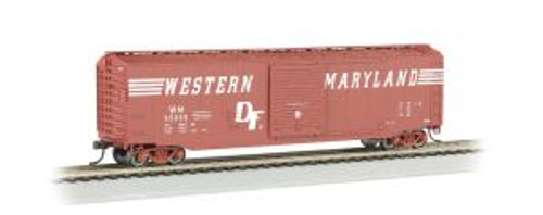 Bachmann Trains 19409 HO Scale 50' Boxcar WM/Speed Letter