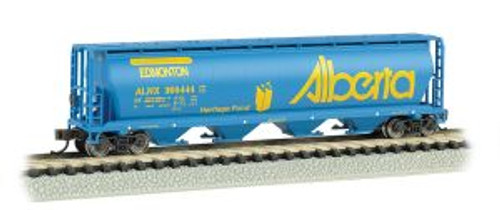 Bachmann Trains 19155 N Scale 4-Bay Cyl.Hopper Alberta