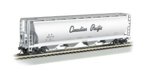 Bachmann Trains 19142 HO Scale 4-Bay Cyl.Hopper CP/sil