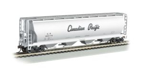 Bachmann Trains 19142 HO Scale 4-Bay Cyl.Hopper CP/sil