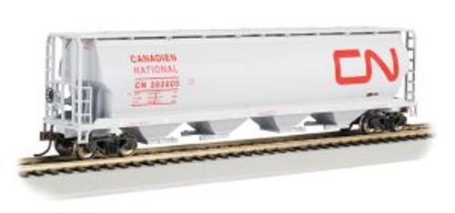 Bachmann Trains 19113 HO Scale 4-Bay Cyl.Hopper CN