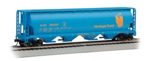 Bachmann Trains 19139 HO Scale 4-Bay Cyl.Hopper Heritage Fund