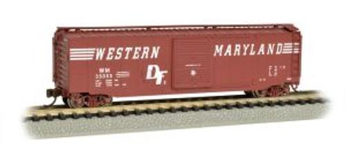Bachmann Trains 19460 N Scale 50' Boxcar WM