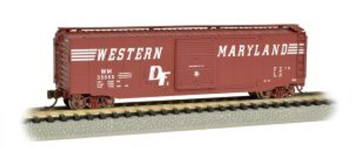 Bachmann Trains 19460 N Scale 50' Boxcar WM
