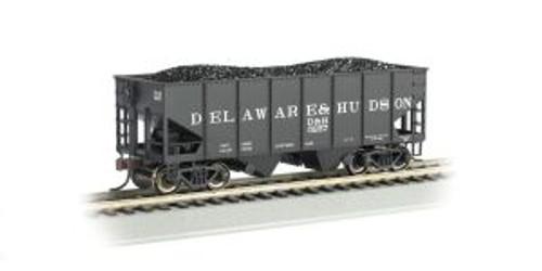 Bachmann Trains 19505 HO Scale 55t 2-bay Outside Braced Hopper D&H