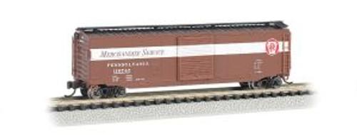 Bachmann Trains 19457 N Scale 50' Boxcar PRR Merchandise Service