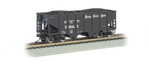 Bachmann Trains 19511 HO Scale 55t 2-Bay Outside Braced Hopper NKP