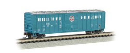 Bachmann Trains 19653 N Scale 50' Boxcar Middletown & New Jersey