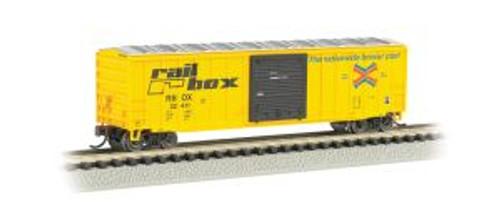 Bachmann Trains 19651 N Scale 50' Boxcar Railbox