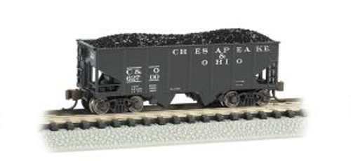 Bachmann Trains 19555 N Scale 55t 2-Bay Hopper C&O