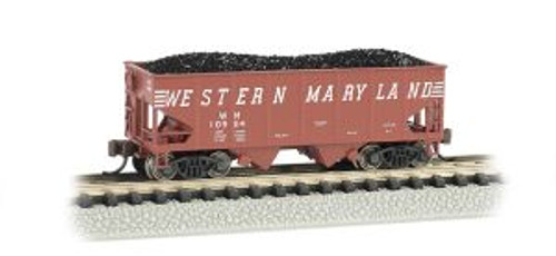 Bachmann Trains 19552 N Scale 55t 2-Bay Hopper WM