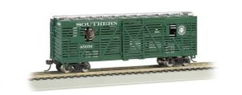 Bachmann Trains 19702 HO Scale 40' Animated Stock Car w/Horses SOU