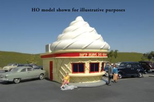 Bachmann 35303 HO Scale Roadside USA Ice Cream Stand