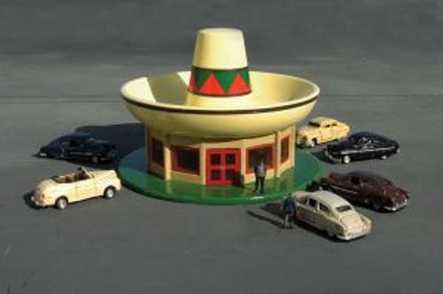 Bachmann Trains 35254 N Scale Roadside USA Sombrero Restaurant
