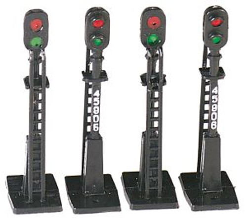 Bachmann Trains 42101 HO Scale Block Signals/4pc