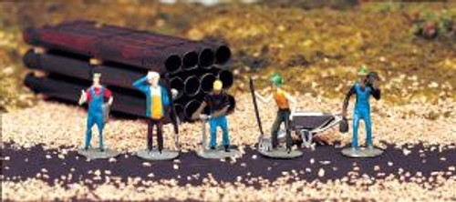 Bachmann Trains 42334 HO Scale People Work Crew