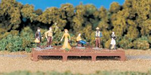 Bachmann Trains 42335 HO Scale People Old West Figures