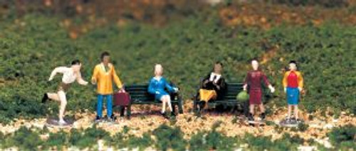 Bachmann Trains 42339 HO Scale People At Leisure