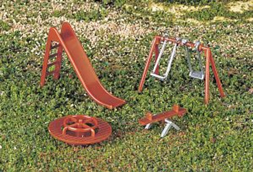 Bachmann Trains 42214 HO Scale Playground Equipment