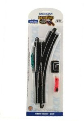 Bachmann Trains 44461 HO Scale EZ Track Steel LH Switch/1cd