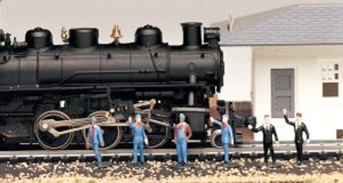 Bachmann Trains 42333 HO Scale People Train Crew