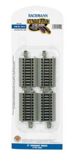 Bachmann Trains 44511 HO Scale EZ Track NS 9Straight/4cd
