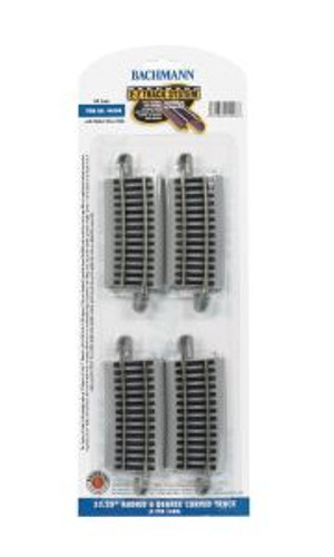 Bachmann Trains 44508 HO Scale EZ Track NS 33R 6*/4cd