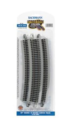 Bachmann Trains 44506 HO Scale EZ Track NS 28R/5cd
