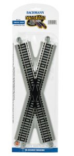 Bachmann Trains 44540 HO Scale EZ Track NS 30* Xing/1cd